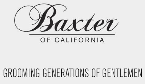 Baxter of California logo - Mens Grooming Brisbane